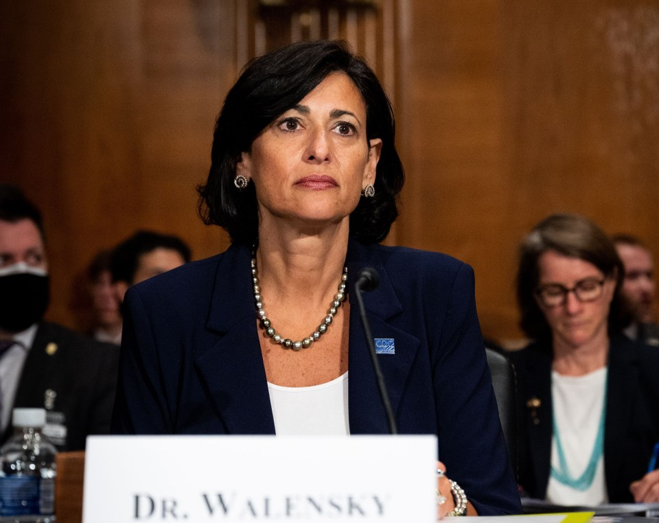 CDC Director Dr. Rochelle Walensky warned Americans that hospitals are approaching capacity