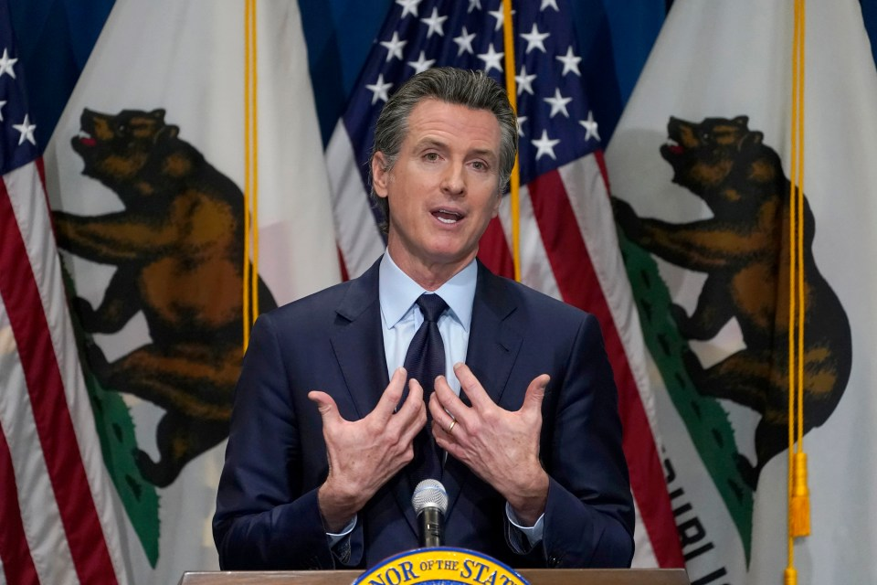 Newsom signed the tax law in 2019
