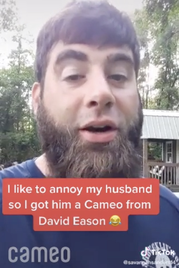 Teen Mom 2 star David Eason sent a fan a Cameo where he called him a 'piece of s**t'