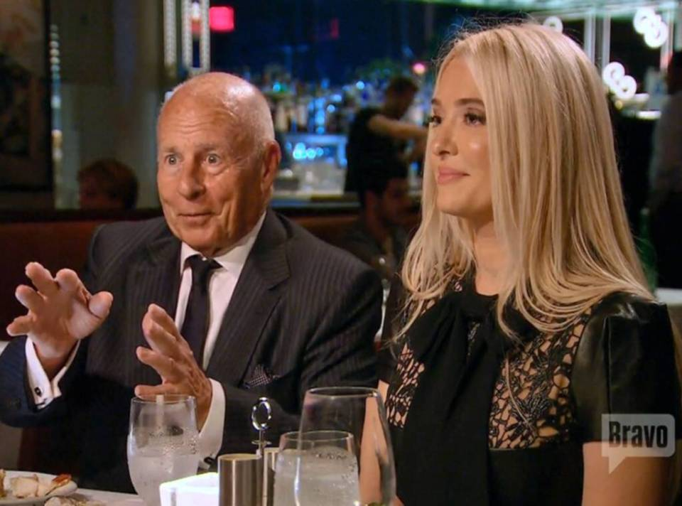 The RHOBH star filed for divorce from Tom, 82, in November after 21 years of marriage