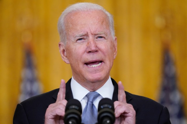 Biden had been laying low, but has now addressed the nation