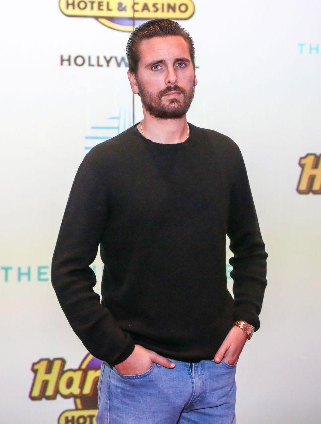 Scott is very bitter about Kourtney's relationship with Travis Barker