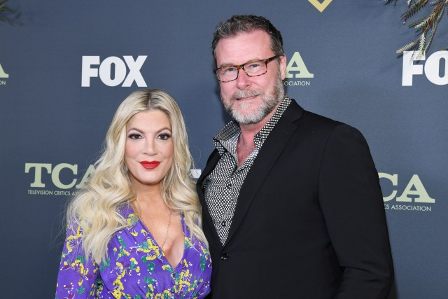 All this comes as rumors continue to swirl that Tori and her husband Dean McDermott's marriage is on the rocks