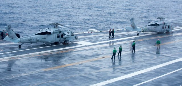 The US Navy has now declared the missing sailors dead