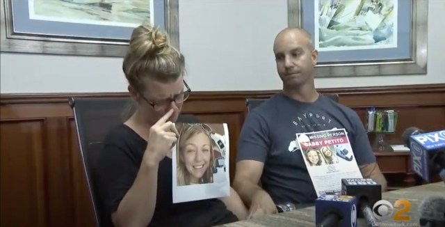 Nicole Schmidt and Joe Petito held a press conference to try and find missing daughter Gabby Petito