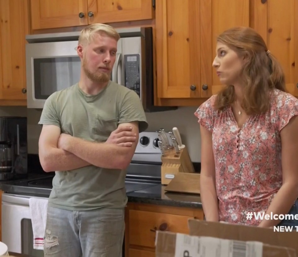 The couple couldn't seem to agree on moving and Ethan accused Olivia of changing