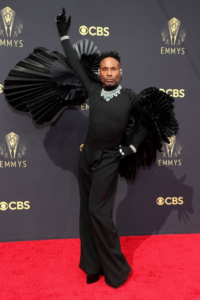 Billy hit the red carpet with wings