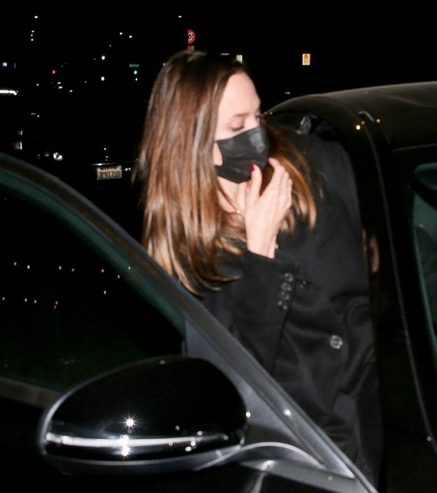 The actress was seen getting into Jonny's car after their date