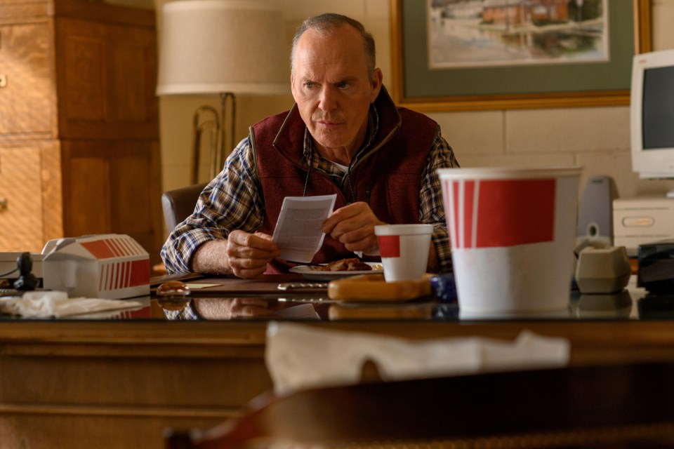 Michael Keaton in Dopesick, an eight-part miniseries about America's opioid crisis