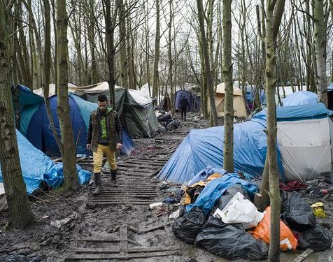 To give you an idea what the camp looks like (not my shot)