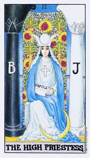 Betekenis van de tarotkaart De Hogepriesteres