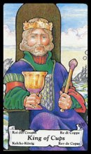 betekenis tarotkaart bekers koning