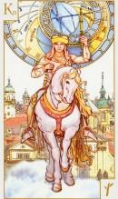 Tarotkaart Combinatie De Ridders