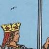 de betekenis van de vogels op de tarotkaart zwaarden koningin