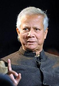 Muhammad Yunus works to define social business