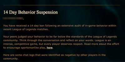 Riot-Suspension
