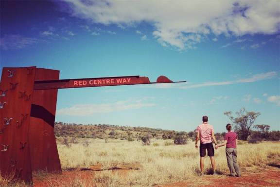 Red Centre Way, es geht los ...