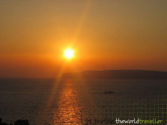 Sonnenuntergang am Paradise Bay