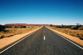 nach ca. 200 km wieder auf die befestige Straße