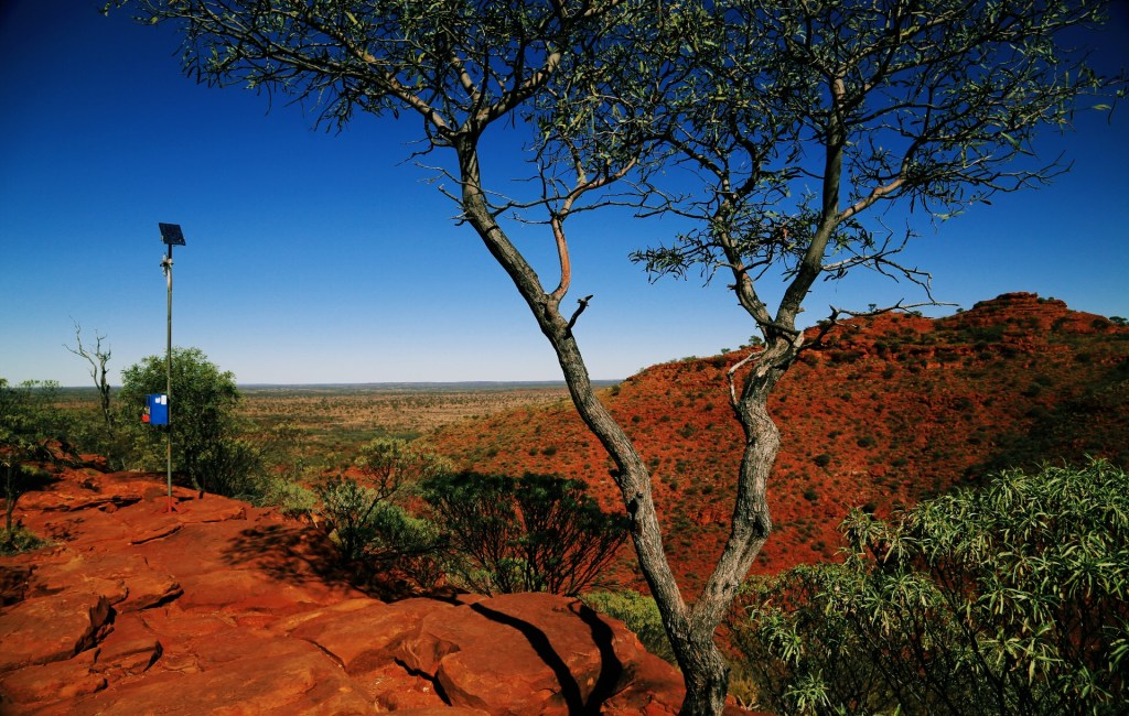 Red Centre Way #3 (Kings Canyon, Kings Creek, Mt. Conner, Sunset Ayers Rock)