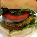 Mung Bean and Sweet Potato Burger