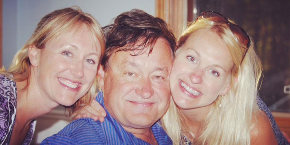 Meredith's loving family