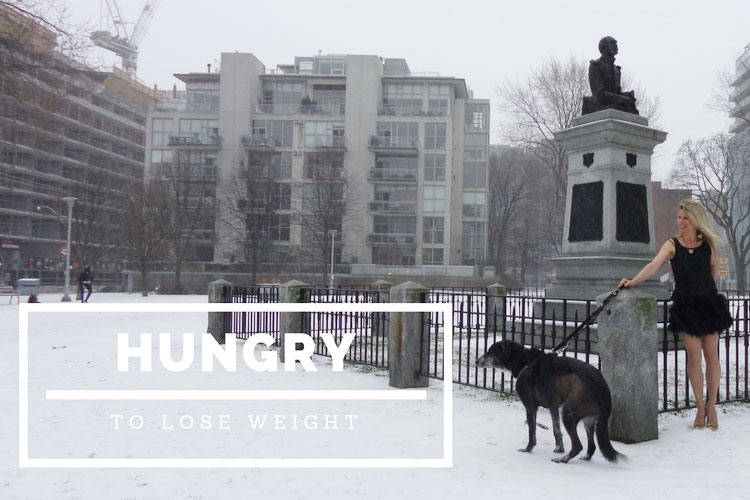 hungry in the direction of consume weight