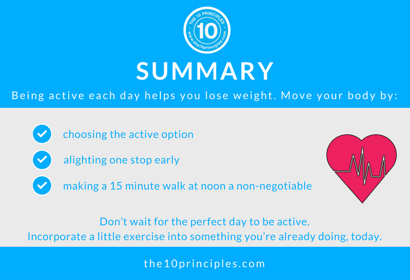 how much exercise do I need to do to lose weight? - summary