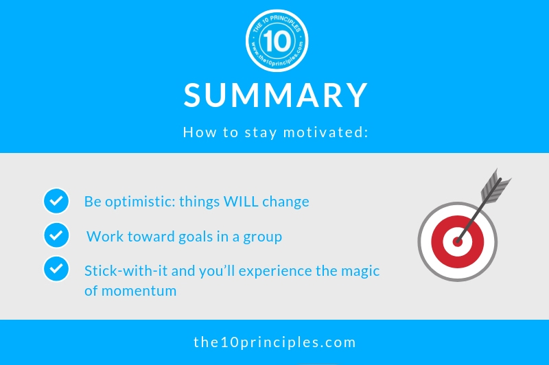 stay motivated - summary
