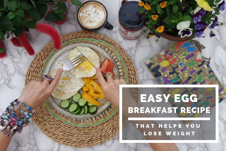 Easy Egg Breakfast Recipe - that helps you lose weight