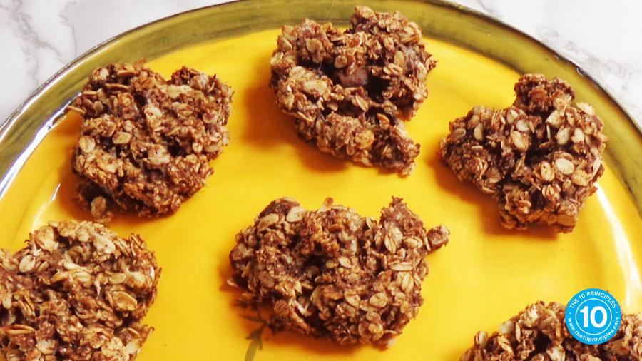Healthy banana muffin recipe - finished muffin tops