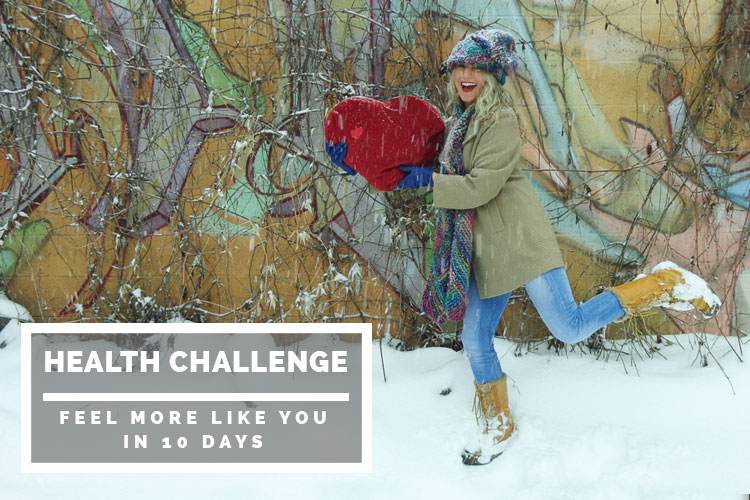 Health challenge: feel more like you in 10 days
