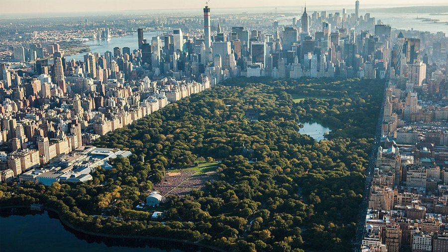 exercise during self-isolation - Central Park New York - source wikipedia