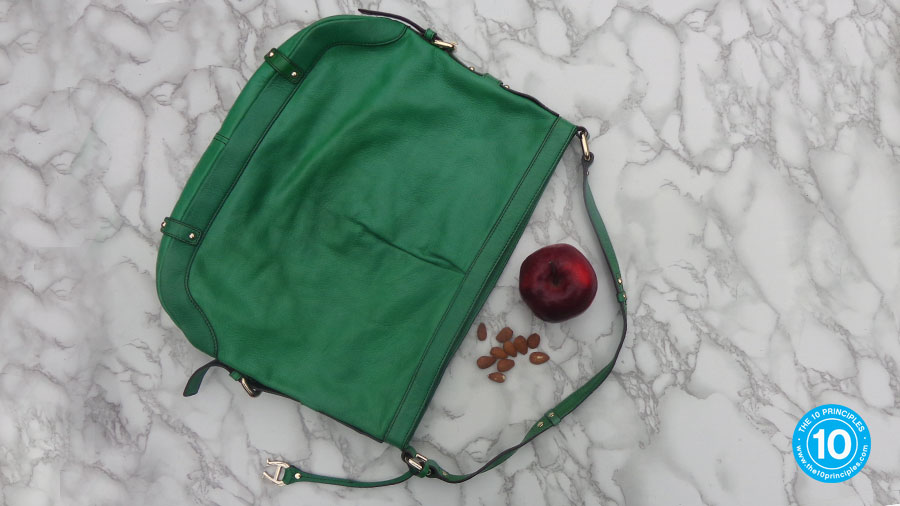 how do I stop over eating - Or a Kelly-green-got-at-a-church-bazarre medium purse.