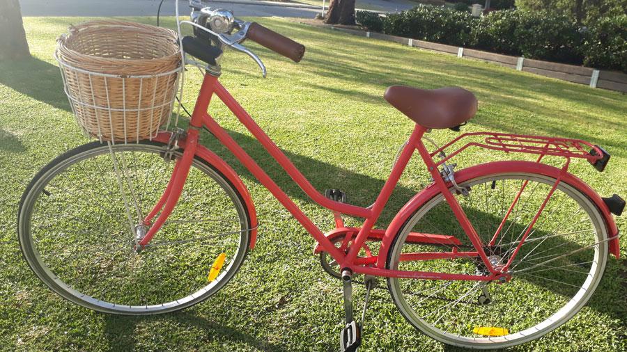 I stopped dieting - Tegan - Red Bike