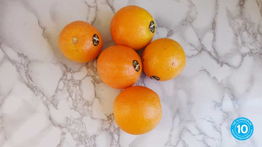 is orange juice good for you -5 oranges