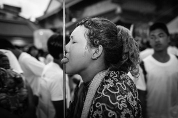 A woman Ma Song, less popular but still participating in the Festival