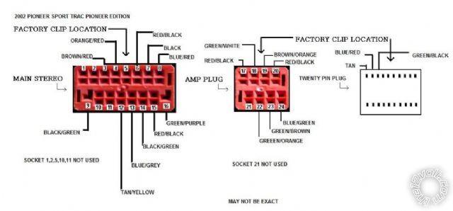 2003 explorer stereo wiring diagram  description wiring