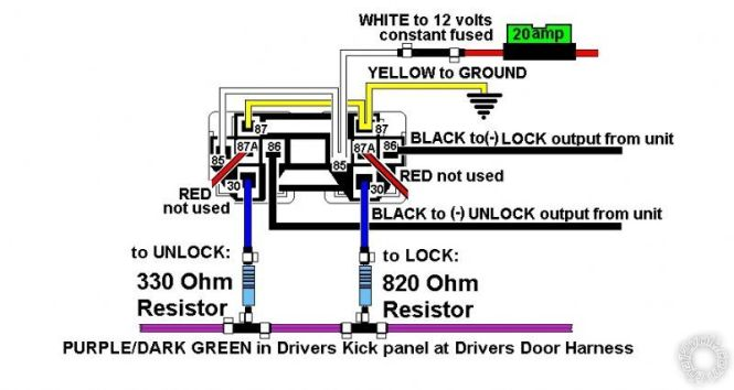 wiring diagram auto start wiring diagrams how to wire relays remote start relay diagram basic only