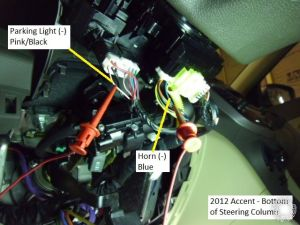 2012 Hyundai Accent Remote Start Pictorial