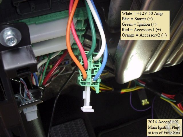 14 Accord Remote Starter Install Pictorial