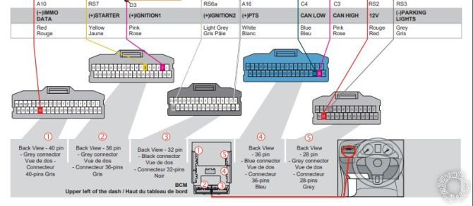 2016 honda civic remote start wiring