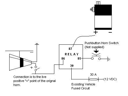 6DB_43z_relay?resize\=443%2C335 dixie air horn wiring diagram dixie horn sound wav \u2022 wiring wolo air horn wiring diagram at reclaimingppi.co