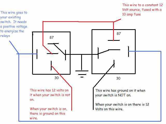 8 post relay wiring diagram  1999 ford f 250 glow plug