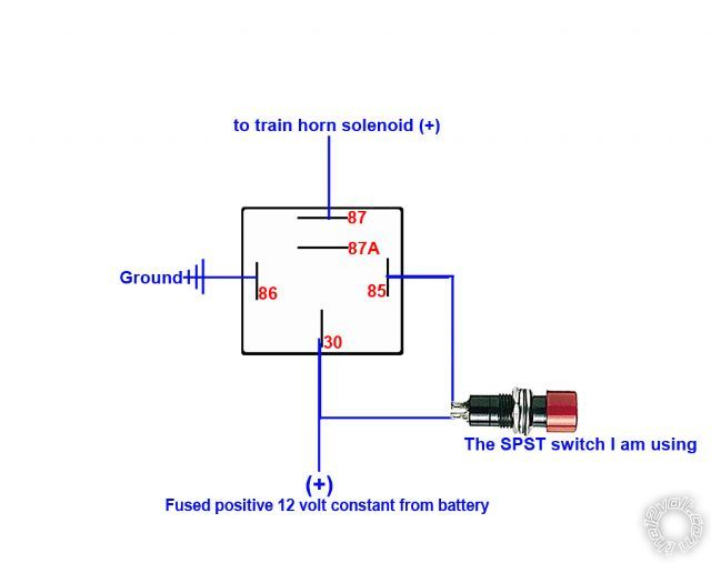 horn wiring diagram out relay horn wiring diagrams bought a new