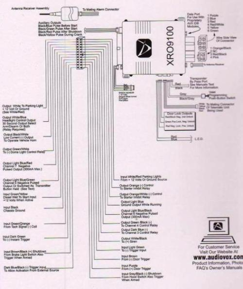 xro9000 wiring?resized500%2C595 prestige alarm wiring diagram efcaviation com prestige car alarm wiring diagram at gsmx.co