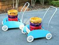 Carts with baskets