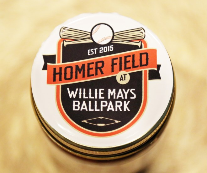 Willie Mays Field - Jar Label