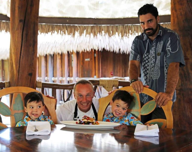 The2Woodies with Chef Michael Lofaro in Maui