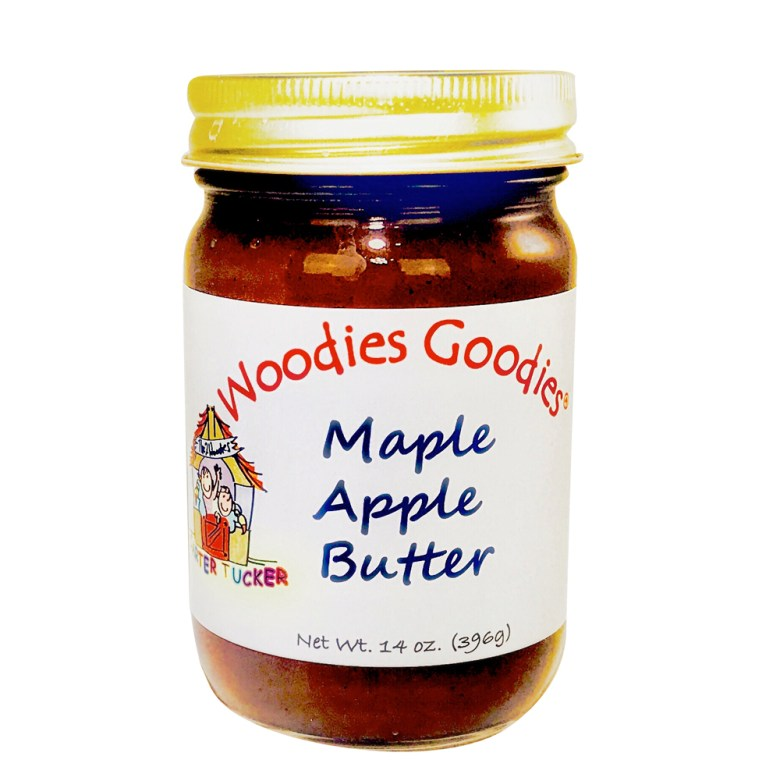 Introducing:  Woodies Goodies Maple Apple Butter